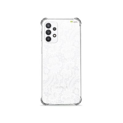 Capa (Transparente) para Galaxy A32 5G - Rendada