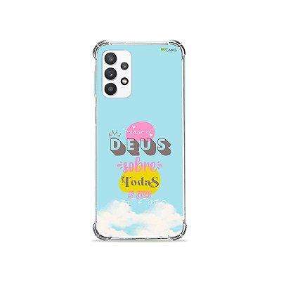 Capa para Galaxy A32 5G - Amar a Deus