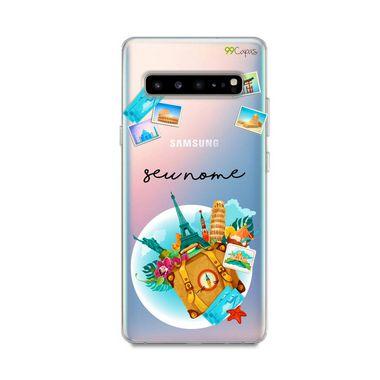Capa Memórias com nome personalizado para Samsung S