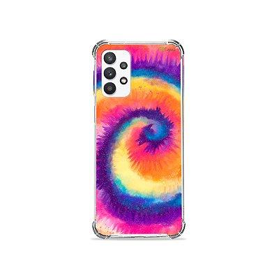 Capa para Galaxy A32 5G - Tie Dye Roxo