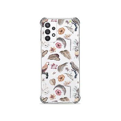 Capa (Transparente) para Galaxy A32 5G - Sweet Bird