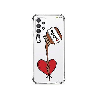 Capa (Transparente) para Galaxy A32 5G - Nutella