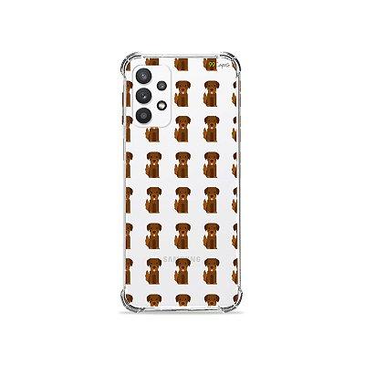 Capa (Transparente) para Galaxy A32 5G - Golden