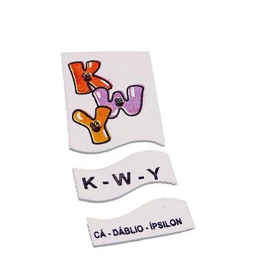 Alfabeto ilust EVA - 72 pc - Emb. plast.