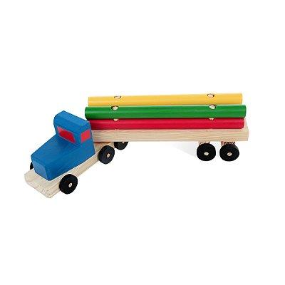Caminhão Transtora - Mad. - 4 pc - PVC enc.