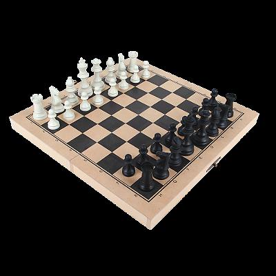 Jogo xadrez oficial - Rei 10cm - 32 pc - Cx. MDF
