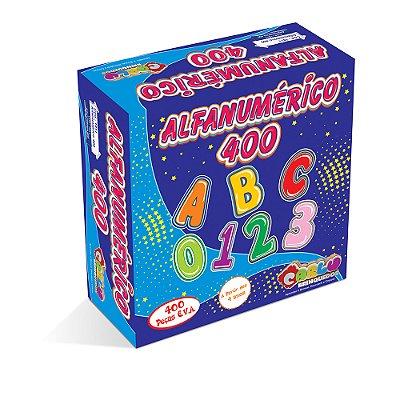 Alfanumerico EVA 400 pc - Cx papel