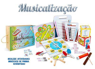 Musicoteca - 22 artigos - Cx. MDF