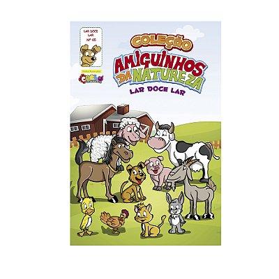 Livrinho amiguinhos da natureza - Animais domésticos