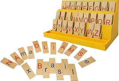 Alfabeto Movel Degrau Letra De Forma