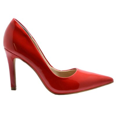 Scarpin Salto Alto Red Pepper