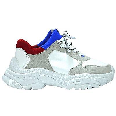 """Dad Shoe Azul/Vermelho """"ETTORE"""" by DRSKA"""