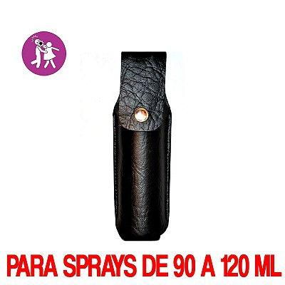 COLDRE EM COURO  PARA SPRAY DE PIMENTA