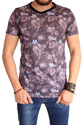 Camiseta Floral - Rock & Soda Jeans