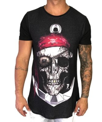 Longline Skull And Anchor - Job Trend