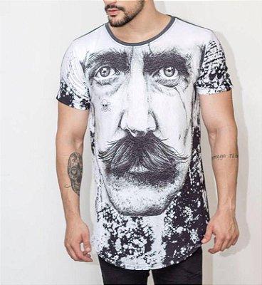 Longline Moustache - Riviera Clothing
