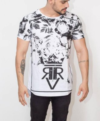 Longline Black And White - Riviera Clothing