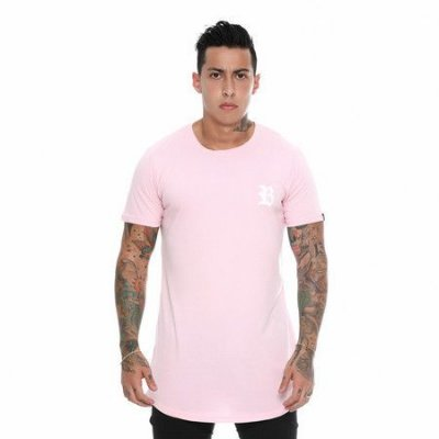 Camiseta Longline Pink Basic - BLCK