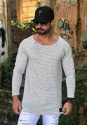 Manga Longa Listras - Riviera Clothing