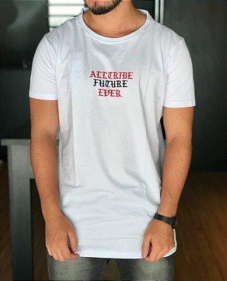 Camiseta Longline Eye White - Alltribe