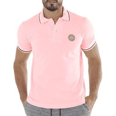 Polo Pink - La Moustache