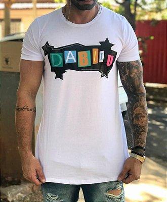 Camiseta Longline Collors - Dabliu Costa