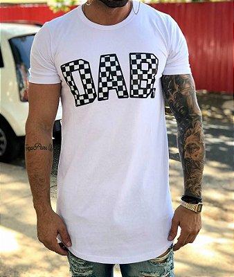 Camiseta Longline Dab White - Dabliu Costa