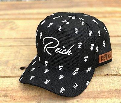 Boné Full Logo Black - Reich