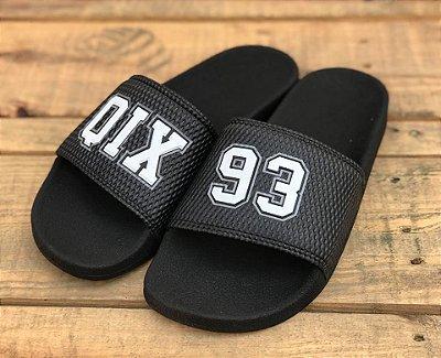 Chinelo Slide 93 Black 109001 - Qix Skateboard