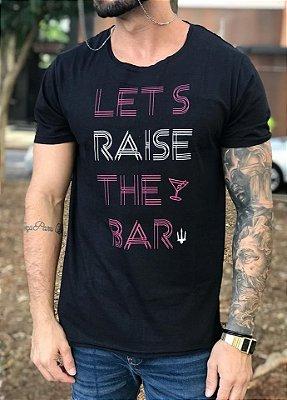 T-shirt Raise The Bar Black - Orion Unlimited