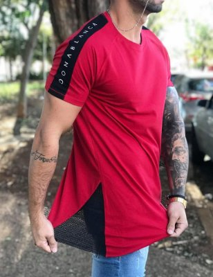 Camiseta Longline Dead Red - DonaBlanca