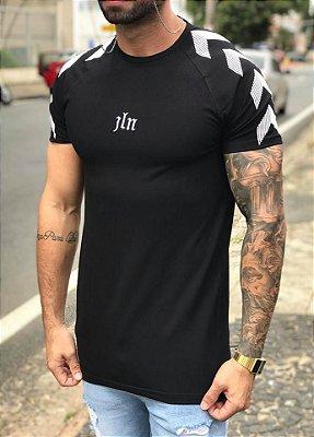 Camiseta Longline Black Arrows - John London