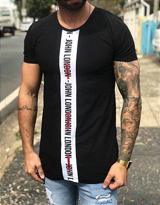 Camiseta Longline Vertical Cut - John London