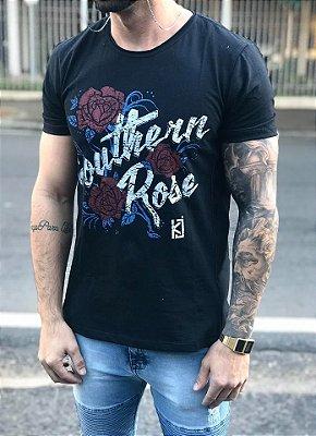 T-shirt Roses Recorte - King Joy