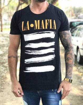 Camiseta Longline We Came To Conquer - La Mafia