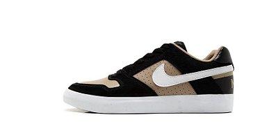Tênis Delta Force Vulc Preto/Bege - Nike SB