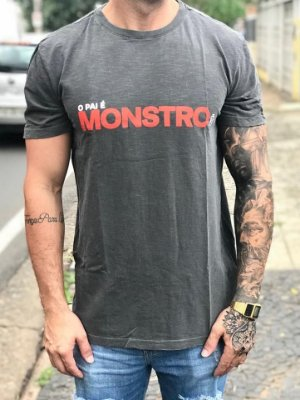 T-shirt O Pai é monstro - Bora