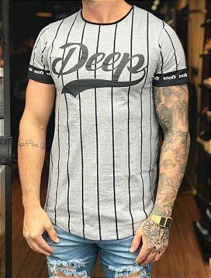 Camiseta Longline Baseball - Deep Roots