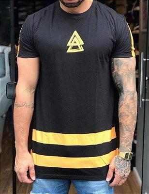 Camiseta Longline Racer Stripes - La Mafia
