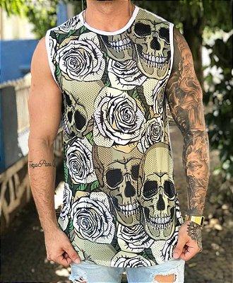 Regata Longline Skull Roses - Evoque
