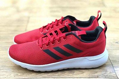 Tênis Lite Racer CLN Masculino Vermelho e Preto - Adidas