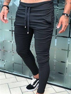 Calça Black Canelada - Blessed Man