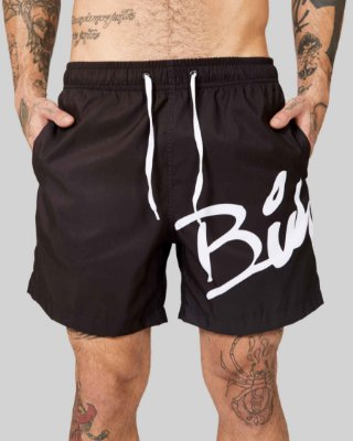 Shorts Beach Black/White - Buh
