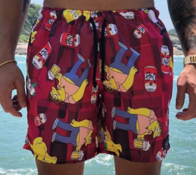 Shorts Beach Simpsons - FB Exclusive Clothing