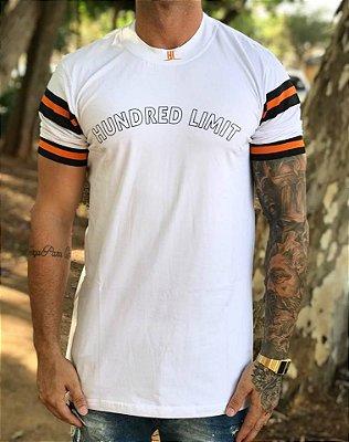 Camiseta Longline Capitan White - Hundred Limit