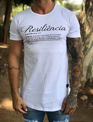 Camiseta Longline Resiliência White - The Hope
