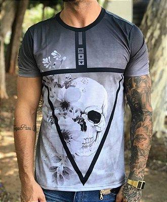 T-shirt Triangle Inverse Skull - Evoque