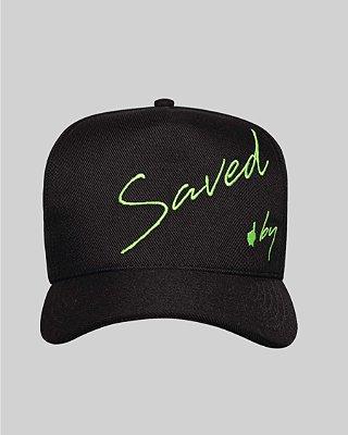 Boné Saved Fluor Black&Green - Buh
