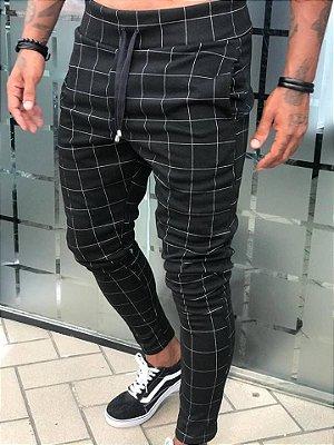 Calça Quadriculada Black - Blessed Man