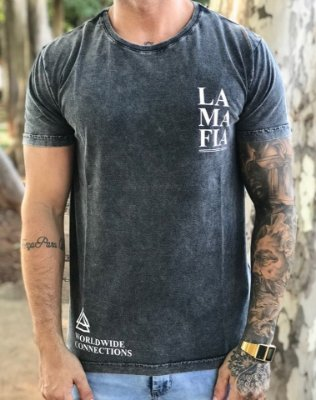 T-Shirt WorldWide Connections - La Mafia